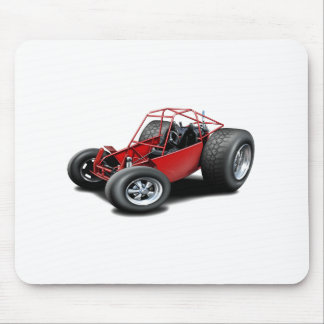 Dune Buggy red Mouse Pad
