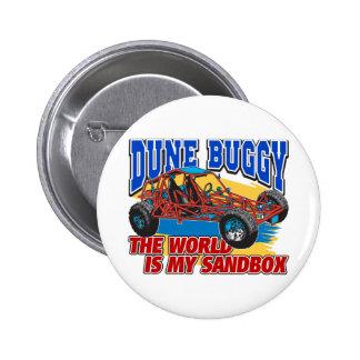 Dune Buggy Sandbox 2 Inch Round Button