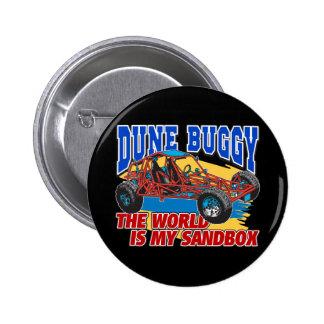 Dune Buggy Sandbox Pin