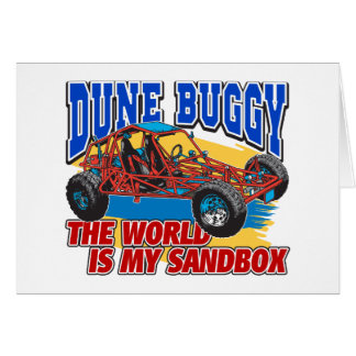Dune Buggy Sandbox Cards