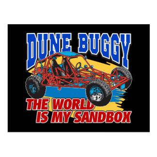 Dune Buggy Sandbox Postcard