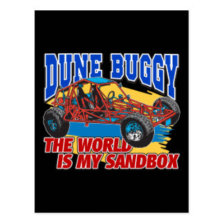 Dune Buggy Sandbox Post Cards