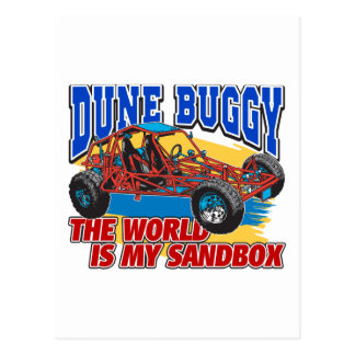 Dune Buggy Sandbox Postcards