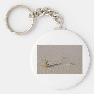 Dune Grass on the Beach Basic Round Button Keychain