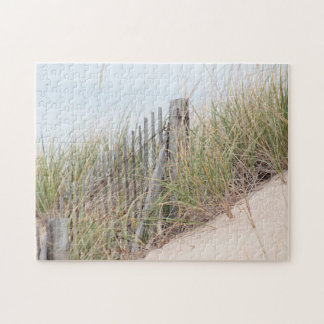 Dune grass, sand dune, beach fence puzzle