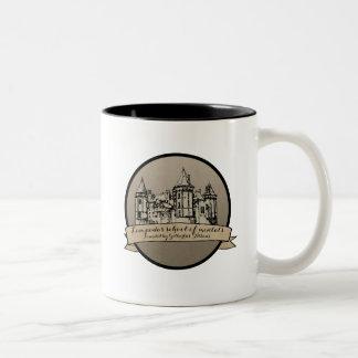 Dune Lampadas School of Mentats Two-Tone Coffee Mug