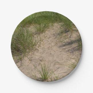 Dune Of Sea Oats Paper Plate