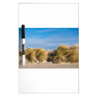 Dune on the beach of the Baltic Sea Dry-Erase Board