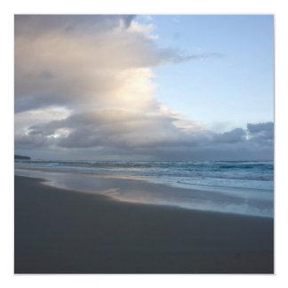 Dunedin Beach at Dusk DSC6544 Card