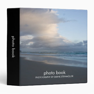 Dunedin Beach at Dusk  Photo Book Binder