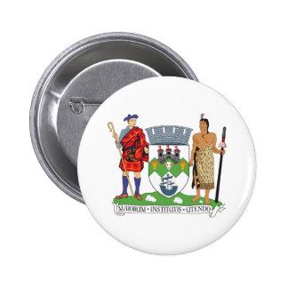 Dunedin Coat of Arms Pinback Button