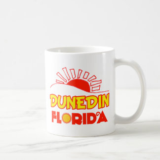 Dunedin, Florida Classic White Coffee Mug