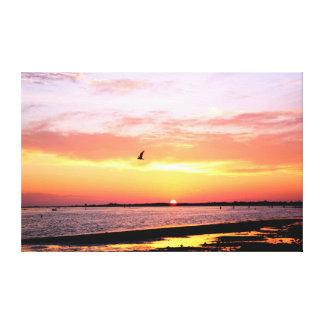 Dunedin, Florida Sunset 3 Stretched Canvas Prints