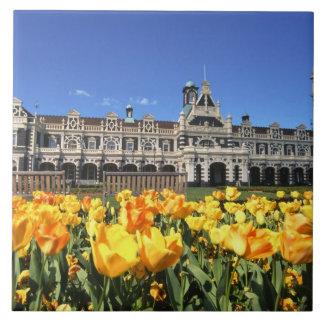 Dunedin Railway Station Ceramic Tile