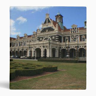Dunedin Railway Station, New Zealand 3 Ring Binder