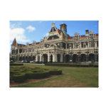 Dunedin Railway Station, New Zealand Gallery Wrap Canvas