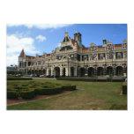 "Dunedin Railway Station, New Zealand 5"" X 7"" Invitation Card"