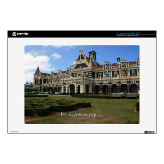 Dunedin Railway Station, New Zealand Laptop Decal