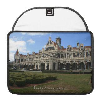 Dunedin Railway Station New Zealand Sleeve For MacBooks