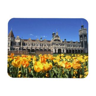 Dunedin Railway Station Rectangular Photo Magnet