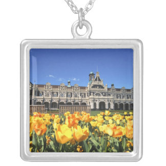 Dunedin Railway Station Silver Plated Necklace