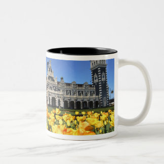 Dunedin Railway Station Two-Tone Coffee Mug