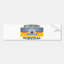 DUNEDIN'S (NZ) ECONOMIC SURVIVAL BUMPER STICKER