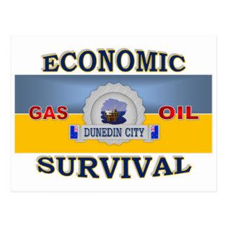 DUNEDIN'S (NZ) ECONOMIC SURVIVAL POSTCARD