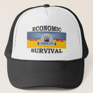 DUNEDIN'S (NZ) ECONOMIC SURVIVAL TRUCKER HAT