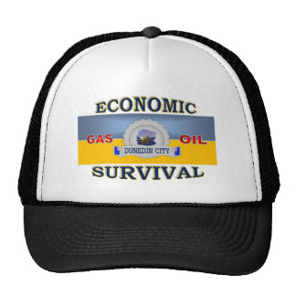 DUNEDIN'S (NZ) ECONOMIC SURVIVAL TRUCKER HAT