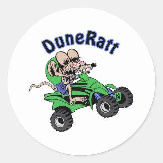 DuneRatt (no dot com) Classic Round Sticker