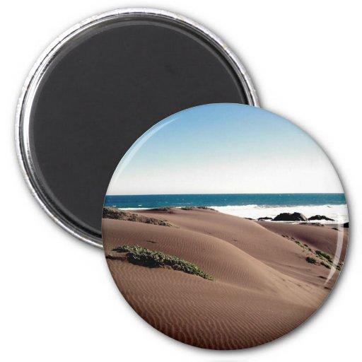 """""""Dunes"""" 2 Inch Round Magnet"""