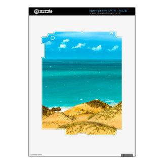 Dunes and Ocean Jericoacoara Brazil iPad 3 Decal