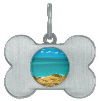 Dunes and Ocean Jericoacoara Brazil Pet Tag