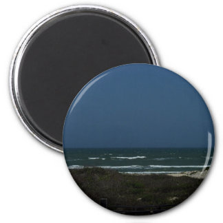 Dunes and Waves 2 Inch Round Magnet