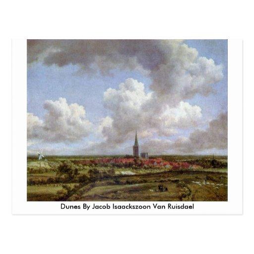 Dunes By Jacob Isaackszoon Van Ruisdael Post Cards