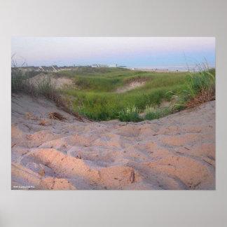 Dunes in Montauk Poster