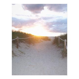 Dunes Letterhead Template