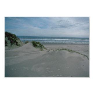 "Dunes Near The Sea 5"" X 7"" Invitation Card"