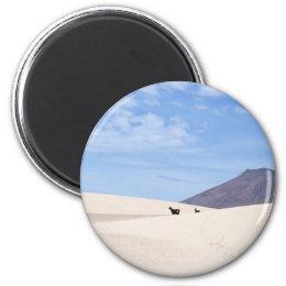 Dunes of Corralejo, Fuerteventura, Canary islands Magnet