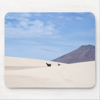 Dunes of Corralejo, Fuerteventura, Canary islands, Mouse Pad