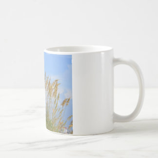 dunes on the beach coffee mug