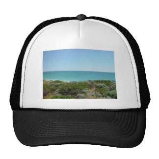 Dunes, Scrub And Sea Off Quinns Rocks Mesh Hat