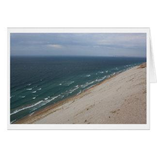 Dunes Shoreline Greeting Card