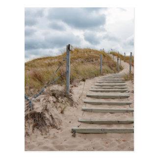 Dunes Stairway Post Card