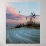 Dunes Sunset Photo Poster Print