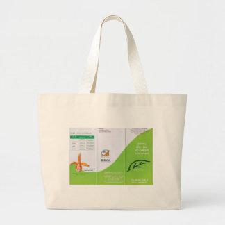 Dunes to folder lado2.tif ecological pamphlet of p large tote bag