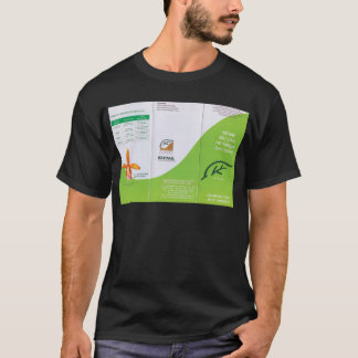 Dunes to folder lado2.tif ecological pamphlet of T-Shirt