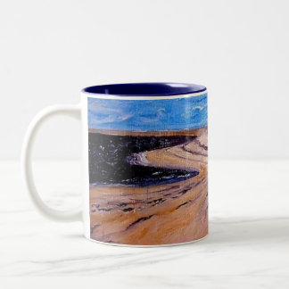 Dunes Two-Tone Coffee Mug