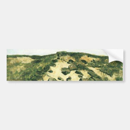 Dunes Vincent van Gogh Bumper Sticker